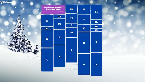 Innofactor Advent Calendar