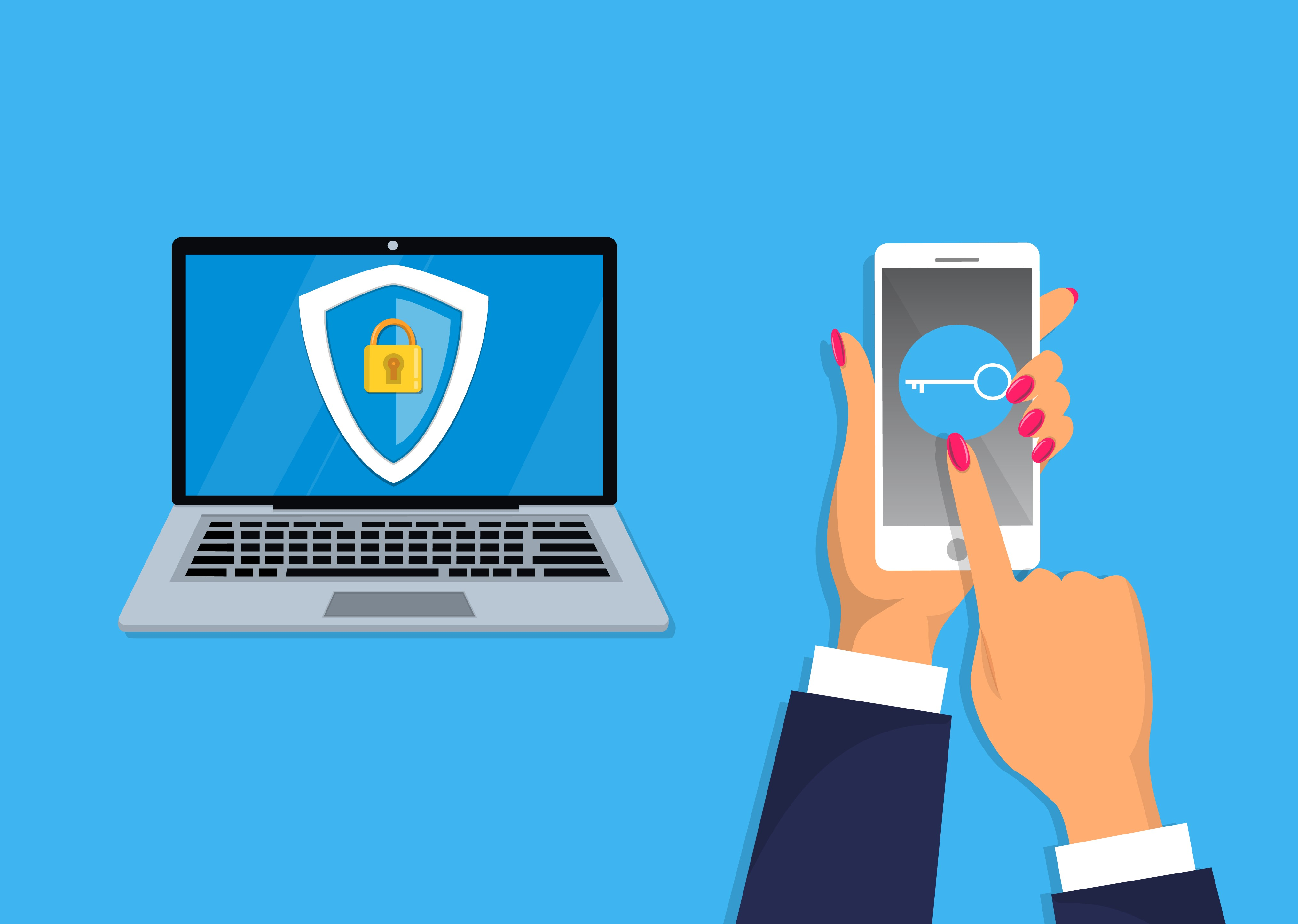NO-multifactor-authentication-mobile